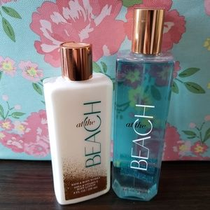 Body spray and lotion